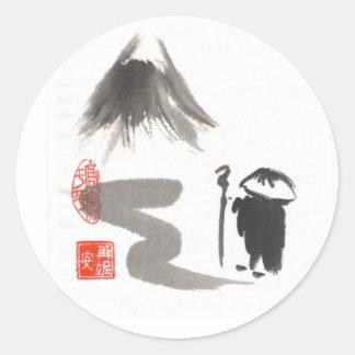 Zen Pilgrim Stickers