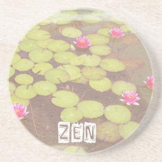 Zen Pink Lotus Coaster