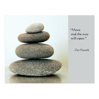 Zen Proverb Postcard