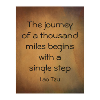 zen quote the journey on wood panel watercolor art wood canvases