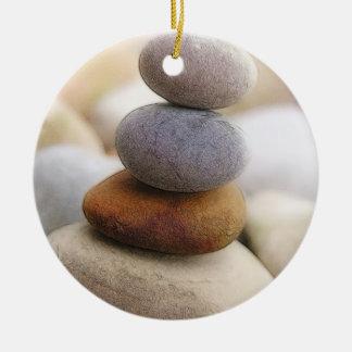 Zen Rock Garden Ceramic Ornament
