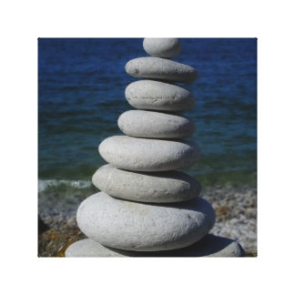 Zen Rocks Canvas Print