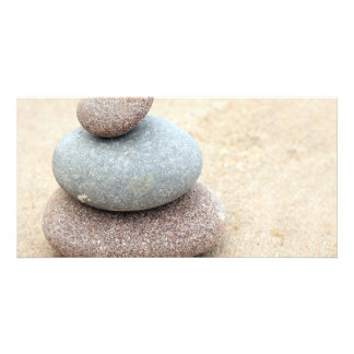Zen Rocks Photo Card Template