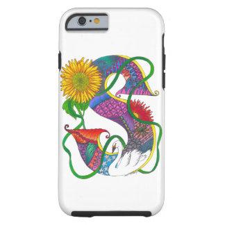 Zen Spirit Art Monogrammed iPhone case