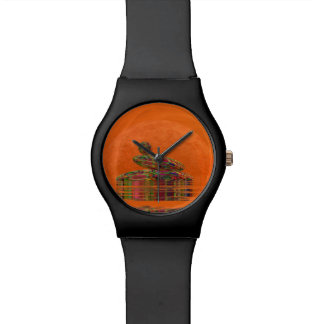 Zen stones - 3D render Wristwatch