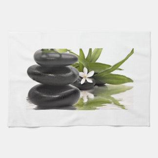 Zen Stones Kitchen Towel