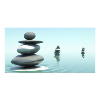 Zen Stones Midday Picture Card