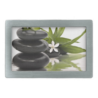 Zen Stones Rectangular Belt Buckles