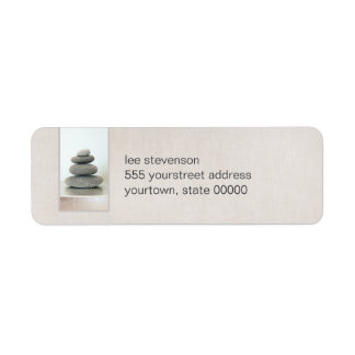 Zen Stones Return Address Labels