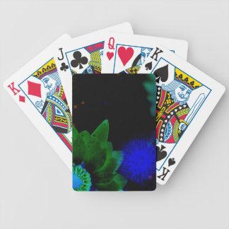 Zen Strength Lotus Flower Bicycle Playing Cards