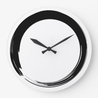 Zen Symbol / Enso Circle Large Clock