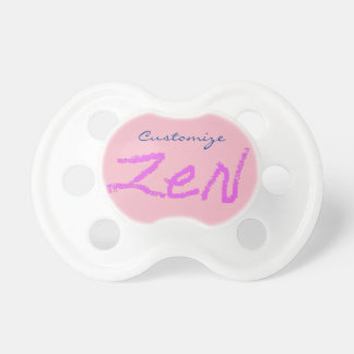 zen Thunder_Cove any color Pacifier