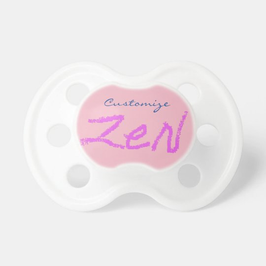 zen Thunder_Cove any colour Pacifier