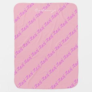 zen Thunder_Cove pink/blue Baby Blanket