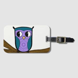 Zen Travel Owl Luggage Tag