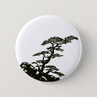 Zen Tree 2 Inch Round Button
