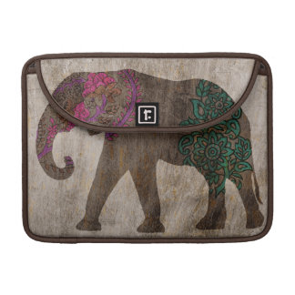 Zen Tribal Asian Elephant Sleeves For MacBooks