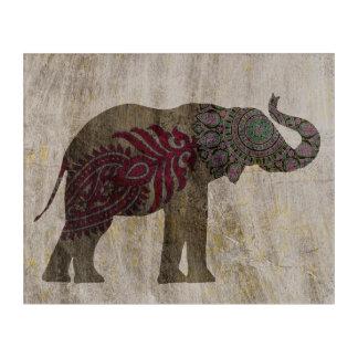 Zen Tribal Elephant Acrylic Wall Art