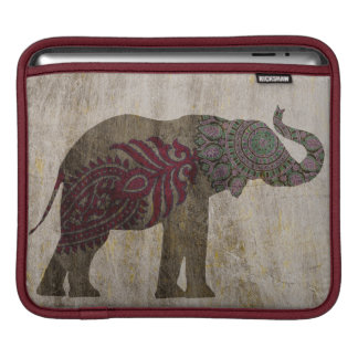 Zen Tribal Elephant iPad Sleeve