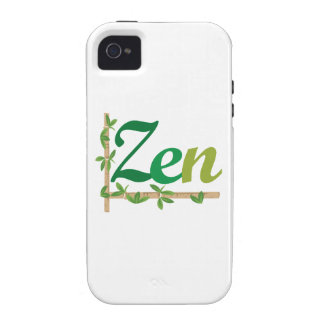 Zen with Bamboo iPhone 4/4S Covers