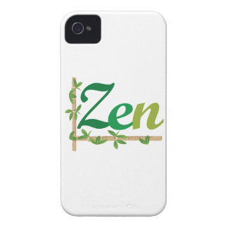 Zen with Bamboo iPhone 4 Cover