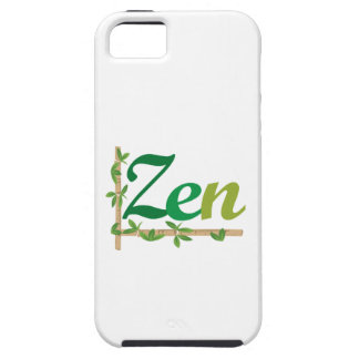 Zen with Bamboo iPhone 5 Case
