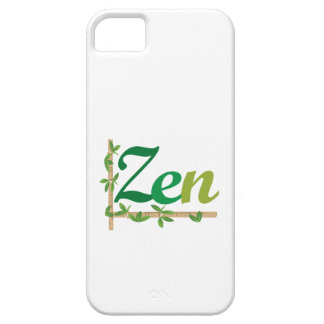 Zen with Bamboo iPhone 5 Cases