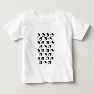 Zen Yin Yang in Metallic Gold Baby T-Shirt