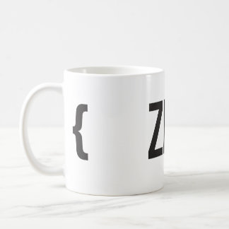 Zen - Your Choose Background Color Coffee Mug