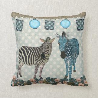 Zen Zebras  Mojo Pillow