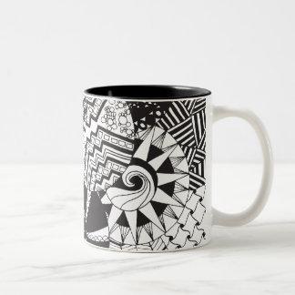 Zendoodle Circle Patterns | Mug
