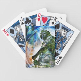 ZenKitten - Classical Roman Angel Bicycle Playing Cards