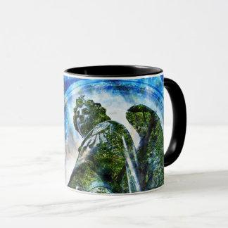 ZenKitten - Classical Roman Angel Mug