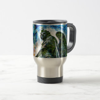 ZenKitten - Classical Roman Angel Travel Mug