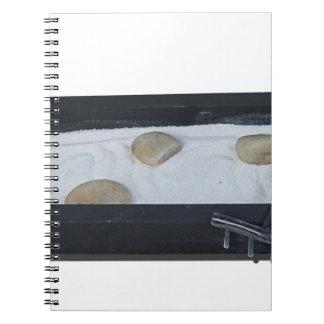 ZenSandGarden011815 Spiral Notebooks