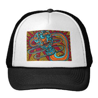 Zentangle Tattoo Worm Hats