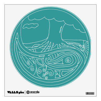 Zentient Being Wall Decal