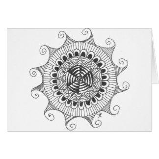 zentnagle mandala - lines card
