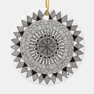 zentnagle mandala - lines II Ornaments