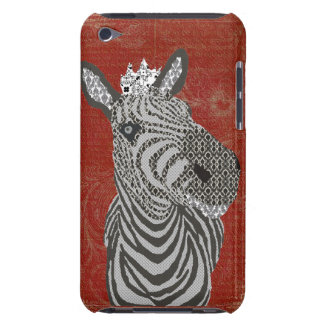 Zenya Red Ornate iPod Touch Cover