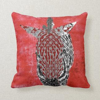 Zenya Retro Red Mojo Pillow