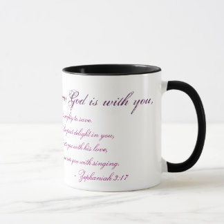 Zephaniah 3:17 mug