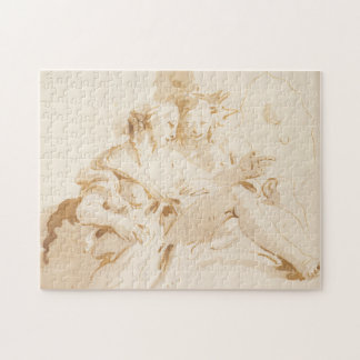 Zephyr and Flora Jigsaw Puzzle