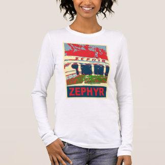 Zephyr Rollercoaster Pontchartrain Beach Long Sleeve T-Shirt