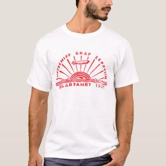 Zeppelin Adventures 1931 Polar Flight T-Shirt