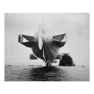 Zeppelin Stern: 1908 Poster