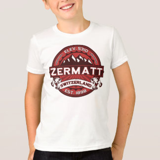 Zermatt Switzerland Red T-Shirt