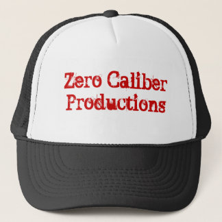 Zero Caliber Productions Trucker Hat