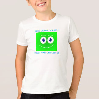Zero drama, Emotion t shirt, emoji, smile, face T-Shirt