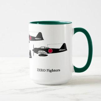 Zero fighter mug